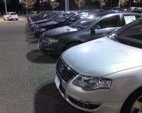 I took lining up cars with gusto and seriousness. Razor-straight parking!